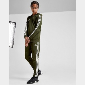 Boys' adidas Originals Tiro Cargo Soccer Pants Army Green/White Sales