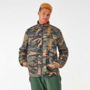 Men's The North Face Thermoball Eco Jacket Camo Sales