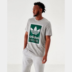 Men's adidas Originals Archive Pantone T-Shirt Grey/Green Sales