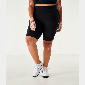 Women's Nike Air Bike Shorts (Plus Size) Black Sales