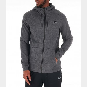 Men's Nike Sportswear Modern Full-Zip Hoodie Charcoal Sales