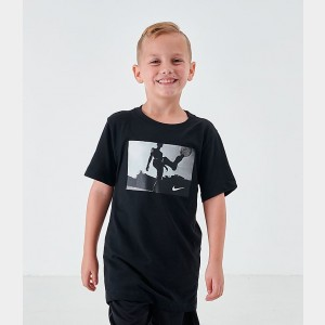 Boys' Nike Dri-FIT Soccer Photo Training T-Shirt Black Sales