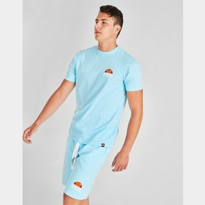 Men's Ellesse Cuba T-Shirt Light Blue Sales