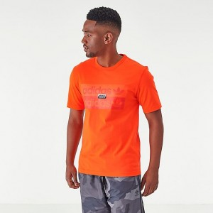 Men's adidas Originals R.Y.V. T-Shirt Active Orange Sales