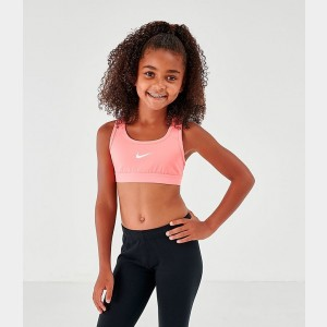 Girls' Nike Classic Sports Bra Pink Gaze/White Sales
