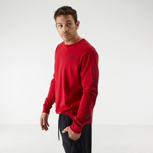 "Men's Jordan ""The Man"" Long-Sleeve T-Shirt Gym Red Sales"