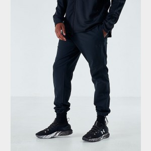 Men's Under Armour Unstoppable Woven Sweatpants Black Sales