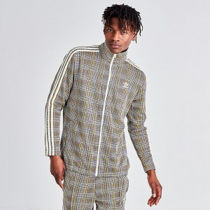 Men's adidas Originals Tartan Track Jacket Multicolor White Sales