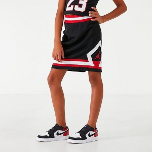 Girls' Jordan Mesh Skirt Black Sales