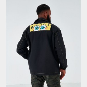 Men's Timberland x SpongeBob SquarePants Jacket Black Sales