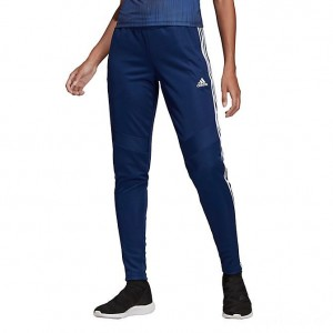 Women's adidas Tiro 19 Training Pants Dark Blue/White Sales