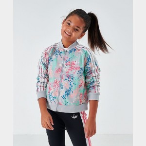 Girls' adidas Originals Cropped SST Track Jacket Multicolor/White Sales