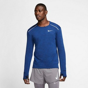 Men's Nike Sphere Element 3.0 Long-Sleeve Training Top Obsidian/Heather Sales
