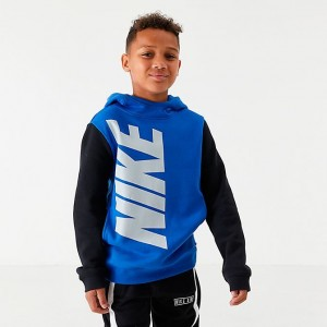 Boys' Nike Sportswear Amplify Hoodie Game Royal Sales