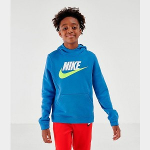 Kids' Nike Sportswear Club Fleece Hoodie Mountain Blue Sales