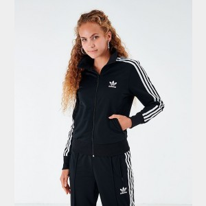 Women's adidas Originals Firebird Track Jacket Black Sales