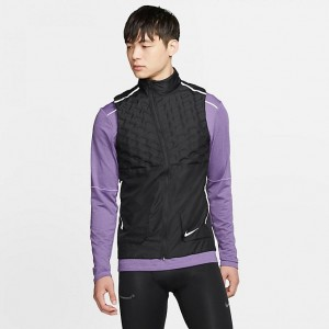 Men's Nike AeroLoft Training Vest Black Sales