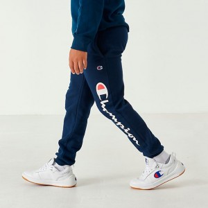 Boys' Champion Heritage Fleece Jogger Pants Navy Sales