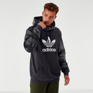 Men's adidas Originals Camouflage Hoodie Carbon Sales