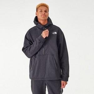 Men's The North Face Graphic Collection Half-Zip Hoodie TNF Black Sales