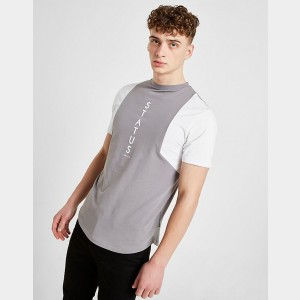 Men's STATUS Zamora T-Shirt Grey Sales
