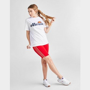 Women's Ellesse Albany Core T-Shirt White Sales
