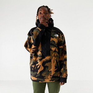 Men's The North Face Graphic Collection Half-Zip Hoodie Camo Sales