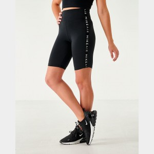 Women's Nike Air Bike Shorts Black Sales