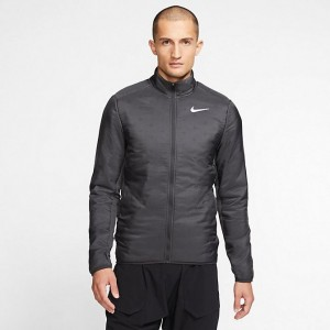 Men's Nike AeroLayer Jacket Dark Smoke Grey/Grey Fog Sales