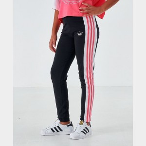 Girls' adidas Originals Printed Leggings Black/Pink Sales