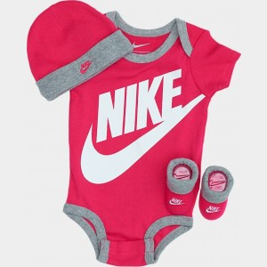 Infant Nike Futura 3-Piece Box Set Rush Pink Sales
