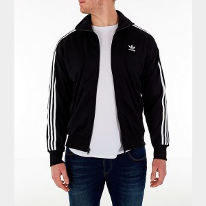 Men's adidas Originals Firebird Track Jacket Black Sales