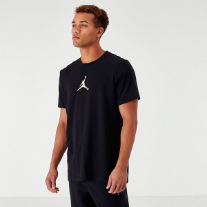 Men's Jordan Jumpman Dri-FIT T-Shirt Black/Red Sales