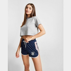 Women's SikSilk Tape Athletic Shorts Navy Sales