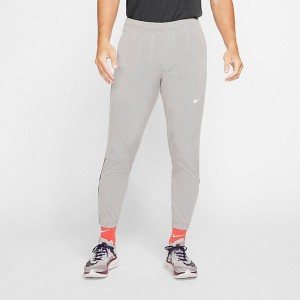 Men's Nike Essential Woven Jogger Pants Heather Grey Sales
