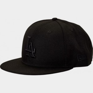 New Era Los Angeles Dodgers MLB 9FIFTY Snapback Hat Black Sales