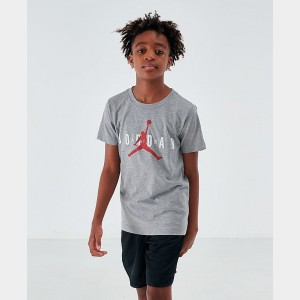 Boys' Air Jordan Jumpman T-Shirt Dark Heather Grey Sales