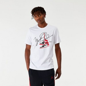 "Men's Jordan ""AJ85"" T-Shirt White Sales"