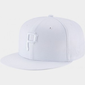 New Era Pittsburgh Pirates MLB 9FIFTY Snapback Hat White Sales