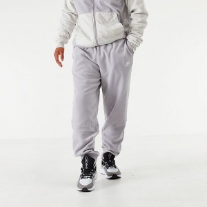 Men's Nike Sportswear Winterized Fleece Jogger Pants Grey Sales