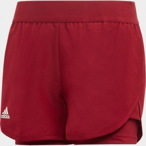 Girls' adidas Club Tennis Shorts Collegiate Burgundy Sales