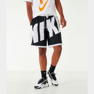 Men's Nike Dri-FIT Throwback Basketball Shorts Black/White Sales