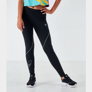 Women's adidas Originals Tights Black/Reflective Sales