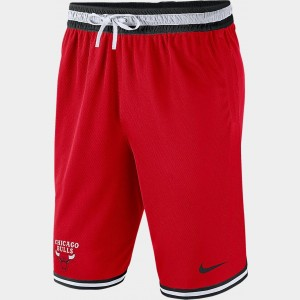 Men's Nike Chicago Bulls NBA DNA Shorts Red Sales
