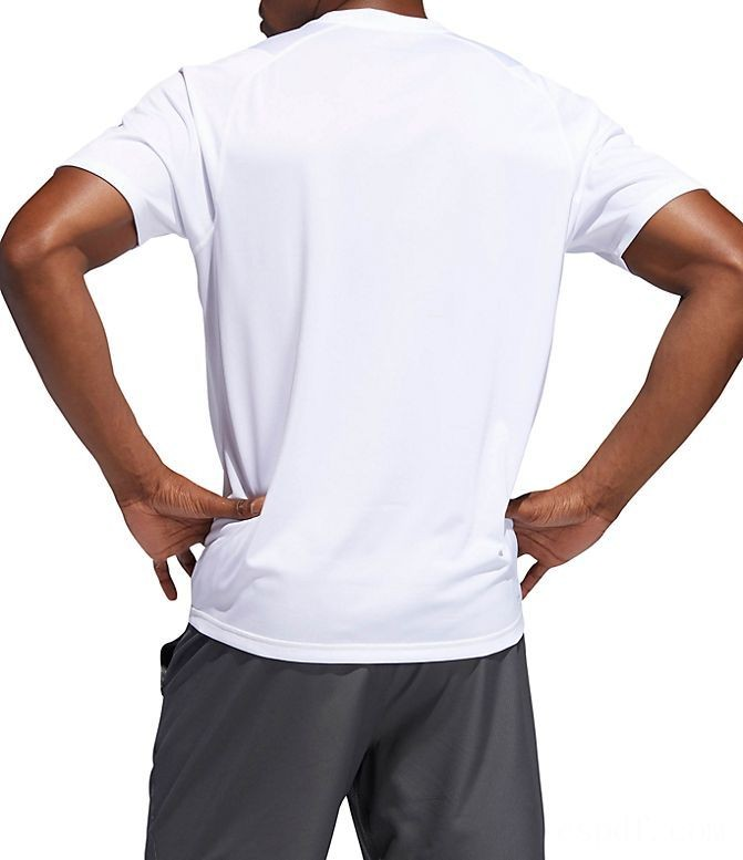 Men's adidas FreeLift Sport Ultimate Solid T-Shirt White Sales