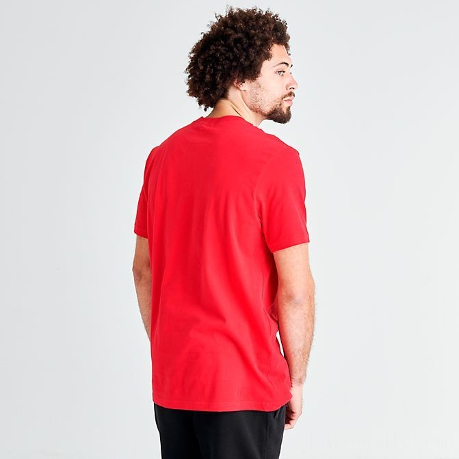 Men's The North Face Half Dome T-Shirt TNF Red/Black Sales