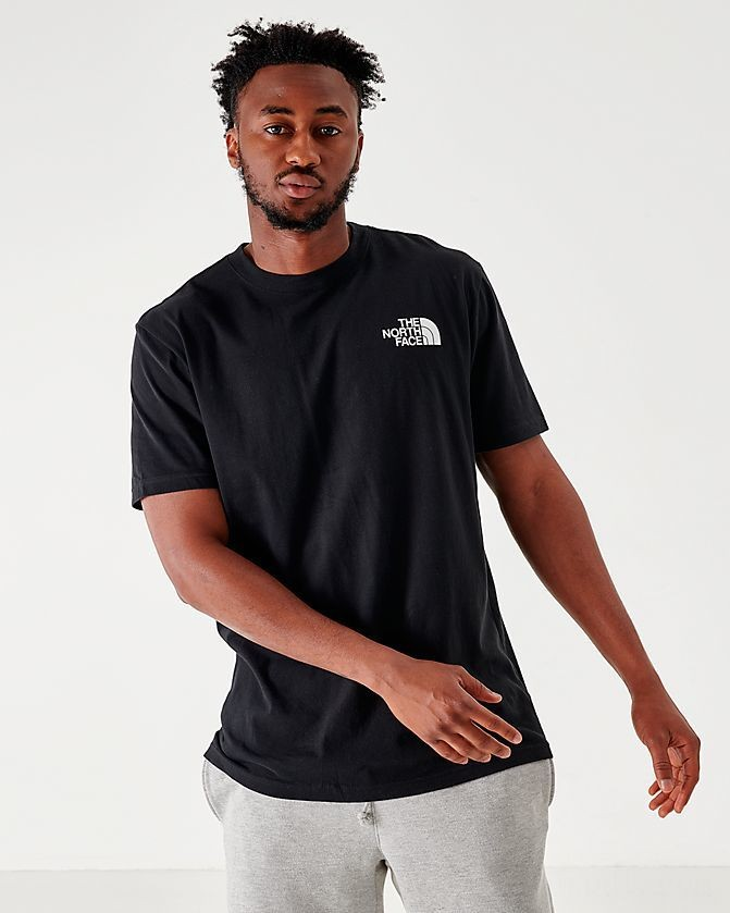 Men's The North Face Box T-Shirt Black Sales