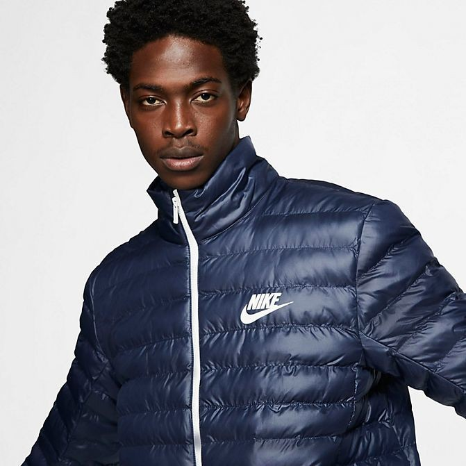 Men's Nike Sportswear Syn Fill Bubble Puffer Jacket Obsidian/Sail Sales