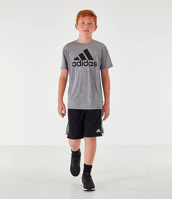 Boys' adidas Performance T-Shirt Dark Grey Sales