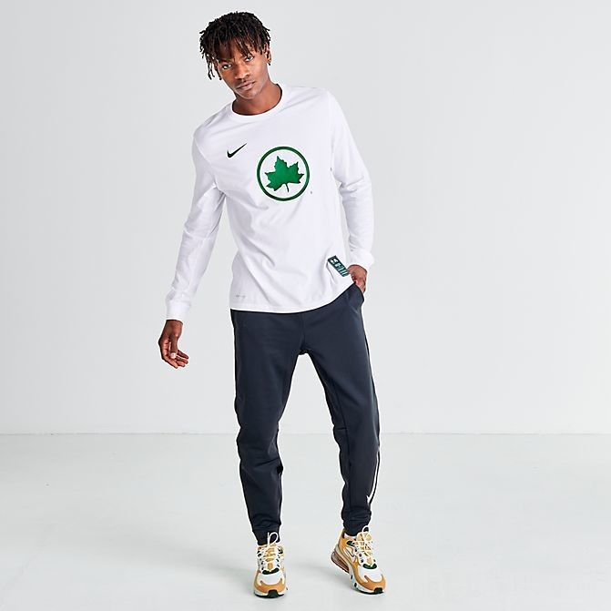 Men's Nike Sportswear NYC Parks Long-Sleeve T-Shirt White Sales